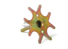 INJECTOR RETAINING PLATE, 4BBL