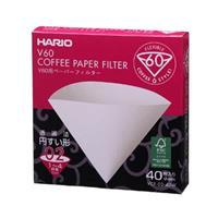 Hario V60 Pappersfilter 2 kopp 40st