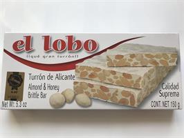 Tu El Lobo Nougat Hård 150g