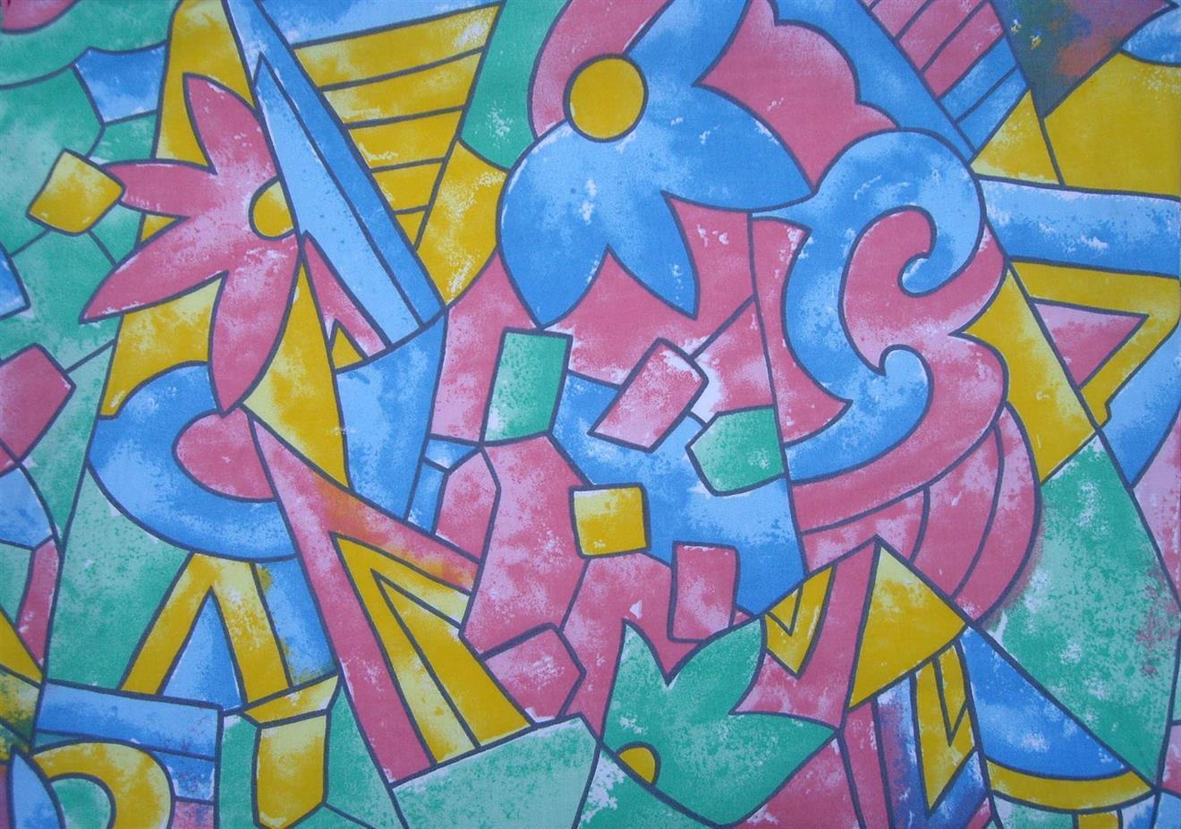 Akvarell, gul