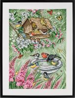Tavla Fåglar i trädgården Aida