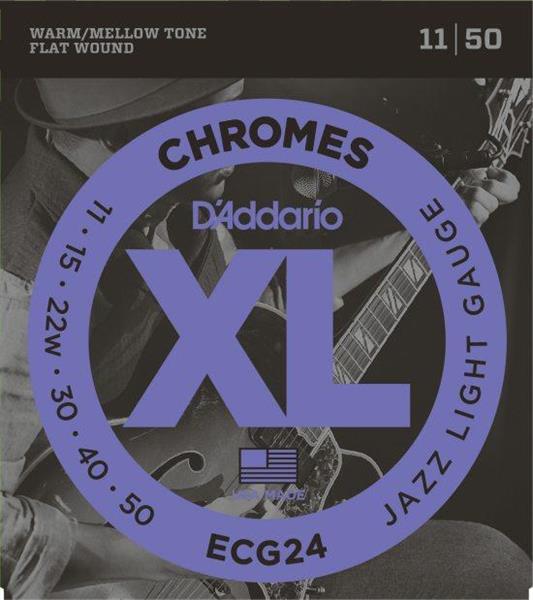 D'Adario ECG24 flat wound 11-50
