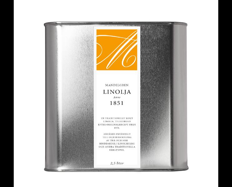 Linolja Anno 1851; 2,5 liter