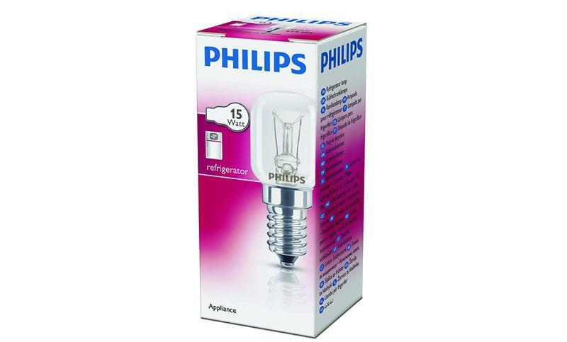 Kylskåpslampa 15w E14 Klar /Philips
