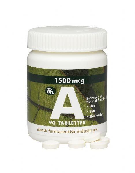 Vitamin A  90 tabl