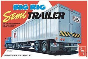 Big Rig Semi Trailer