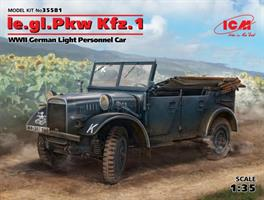 le.gl.Einheits-Pkw Kfz.1 WWII German Light Personn