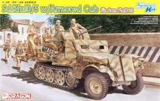 Sd.Kfz.10/5 w/Armored Cab für 2cm Flak 38