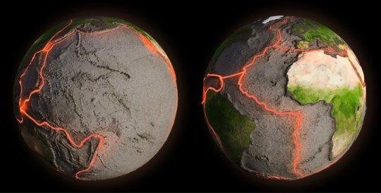 Geologists discover how a tectonic plate sank