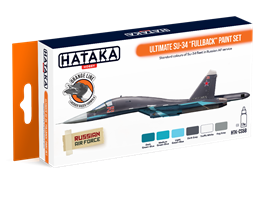 "Ultimate Su-34 ""Fullback"" paint set"