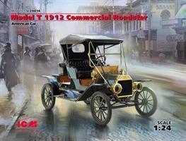 American Model T 1912 Commercial Roadster Car