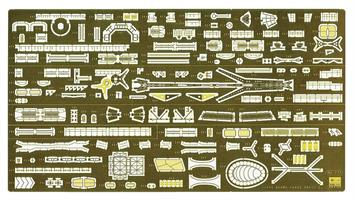 IJN Agano Light Cruiser Detail Parts Set