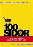 100 sidor om att starta och drivar butik på nätet
