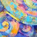 Creation, Orginalmaleri, Akryl m glimmer