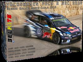 Volkswagen Polo R WRC 2016 Winner Rallye Monte-Car