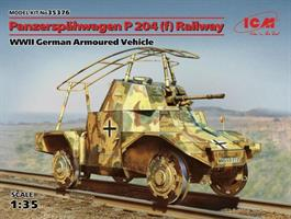 WWII German Armoured Vehicle Panzerspähwagen P 204