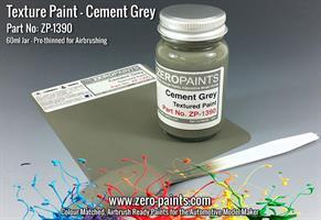 Grey Textured Paint - 60ml (Engines, Interiors etc