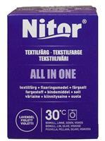 Nitor Tekstilfarge All-in-one, Fiolett