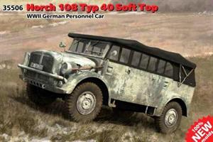 Horch 108 Typ 40 Soft Top WWII German Personnel Ca