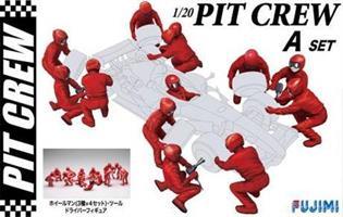 Pit Crew Set A 1:20