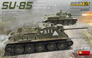 SU-85 SOVIET SELF-PROPELLED GUN MOD.1944 EARLY PRO