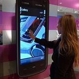 Interaktiv touchfolie - Back as for Byporten i Oslo