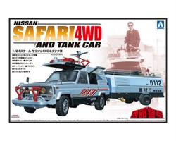 CONCRETE WESTERN SAFARI 4WD AND TANK CAR