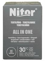 Nitor Tekstilfarge All-in-one MAXI, Grå