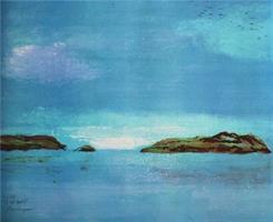 Eva Langaas-Ut mot havet II