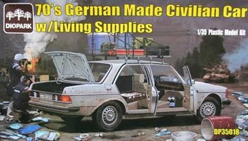 70's German Made Civilian Car w/Living Supplies