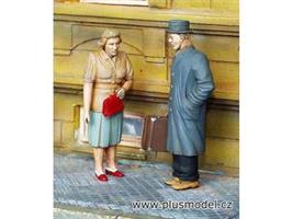 Figurer - Sivile. Mann og Dame
