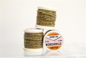 Microchenille Cactus - Gray Olive Pearl