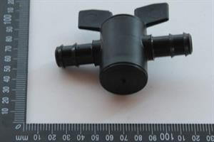Ball valve PP, 20x20mm