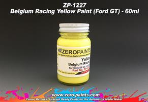 Belgium Racing Yellow Paint (Ford GT)