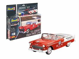 1955 Chevy Indy Pace Car. Model Set