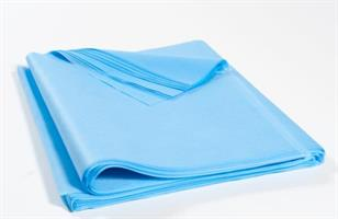 Bänkpapper 300st 50x195cm ljusblå