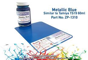 Metallic Blue Paint - 60ml
