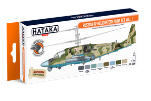 Russian AF Helicopters paint set vol. 1