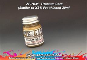 Titanium Gold Paint 30ml