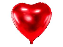 Foil Heart Red 61cm