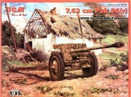 7,62cm Pak 36(r) WWII German Anti Tank Gun