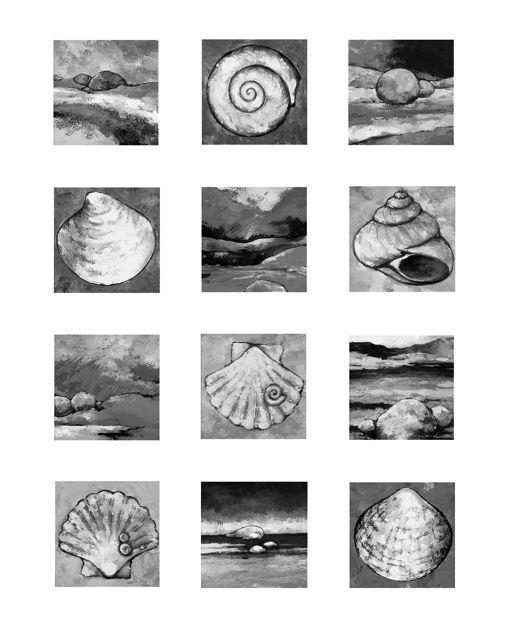 Havets hemmeligheter, sort hvitt