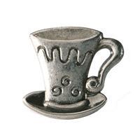 Knopp Cappuchino svart antik