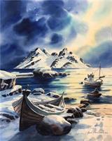 Jarle Hammer-Nordlys i havna
