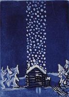 Svein Erik Larsen-Det snør hos oss