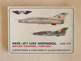 MiG-21UM Mongol Soviet Trainer/Fighter