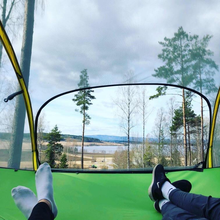 Utsikt over Gjesåssjøen!