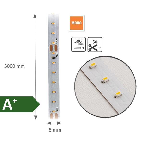 LED-Strip MONO 3000K 4,8W, 5m