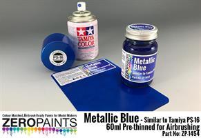 Metallic Blue Paint (Similar to PS-16) 60ml