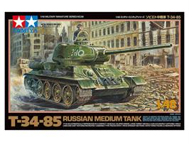 RUSSIAN MEDIUM TANK T-34-85